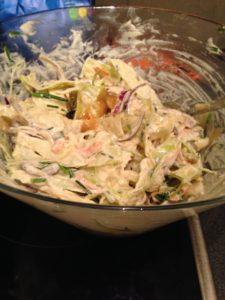 Färdig coleslaw